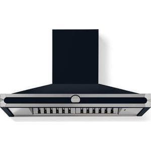 Lacornue Cornufe - Dark Navy Blue Cornufe 110 Hood with Satin Chrome Accents