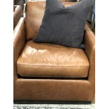 Jennifer Leather Swivel Chair