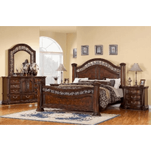 King Mansion Footboard, 6/6 - 6/0