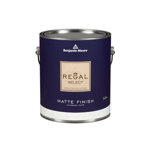 Regal Select Waterborne Interior Paint - Matte Finish