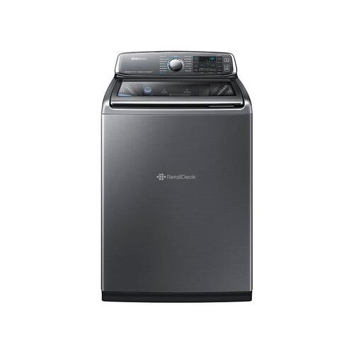 SAMSUNG WA8700 5.2 cu. ft. Top Load Washer with activewash