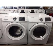 Refurbished Samsung  Front Load Washer Dryer Set Please call store if you would like additional pictures. This set carries our 6 month warranty, MANUFACTURER WARRANTY AND REBATES ARE NOT VALID (Sold only as a set)