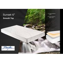 "Sunset 6"" Classic Memory Foam Mattress"