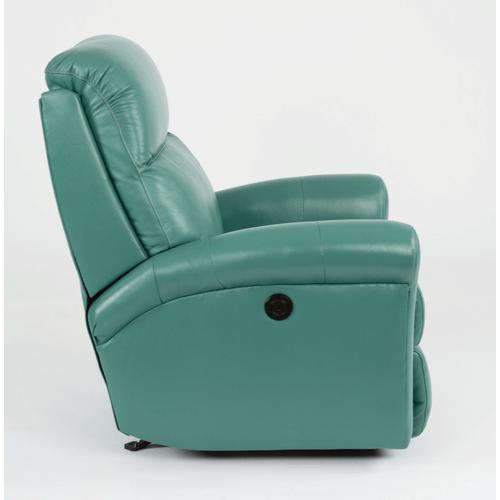 Flexsteel - Davis Leather Recliner
