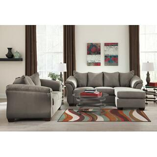 See Details - Darcy Cobblestone Sectional