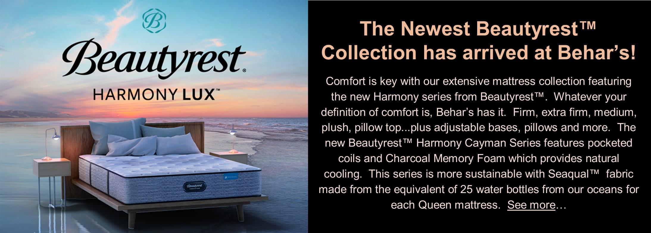 Beautyrest's newest collection!