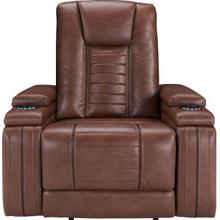 Tinsmith Umber Theatre Power Recliner