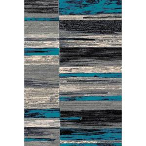 Trendz Collection Blue 5x8 Rug
