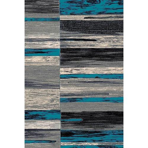 Product Image - Trendz Collection Blue 5x8 Rug