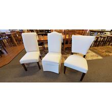 1 ONLY - Charlotte Dining Chair, fabric as shown