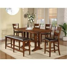 See Details - Mango Counter-Height Table and 4-Side Chairs