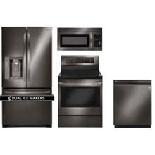 LG 4-Piece Black Stainless Steel Appliance Suite