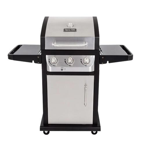 DYNA-GLO  Stainless Steel 3 Burner 507 sq. in. 36,000BTU Propane Barbecue