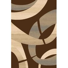 Medium - Sculpture S-248 Chocolate 5x7 Rug