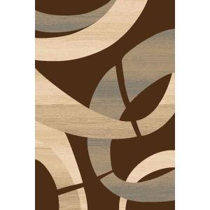 Medium - Sculpture S-248 Chocolate 5x7 Rug