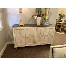 4 Dr Media Credenza Style 22507