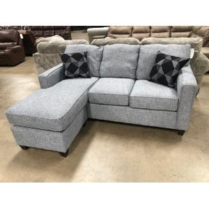 American Furniture Manufacturing - Sofa with Chaise 3667gry