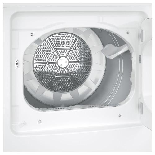 Treviño Appliance - Hotpoint 240-Volt White Electric Vented Dryer