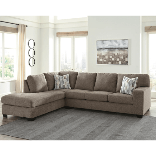 Dalhart - Hickory - 2-Piece Sectional with Left Facing Chaise