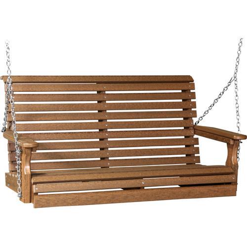 Plain Swing 4' Premium Antique Mahogany