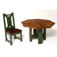 Aberdeen Dining Table With Octagon Top