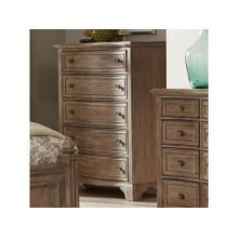 Stately Wood Drawer Chest