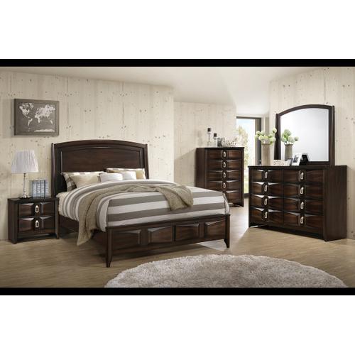 Alexa 4 Pcs Queen Bedroom set