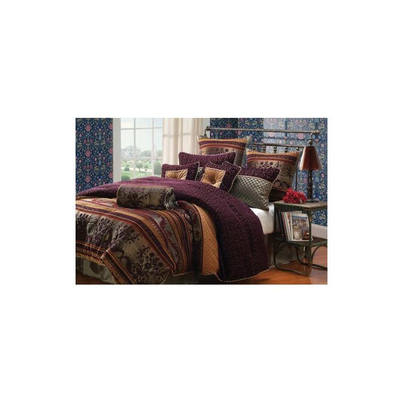 Petra Comforter Set King 10pc & Queen 9pc Set