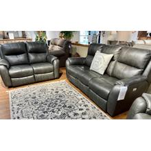 See Details - Obsession Slate Power Reclining Sofa & Loveseat