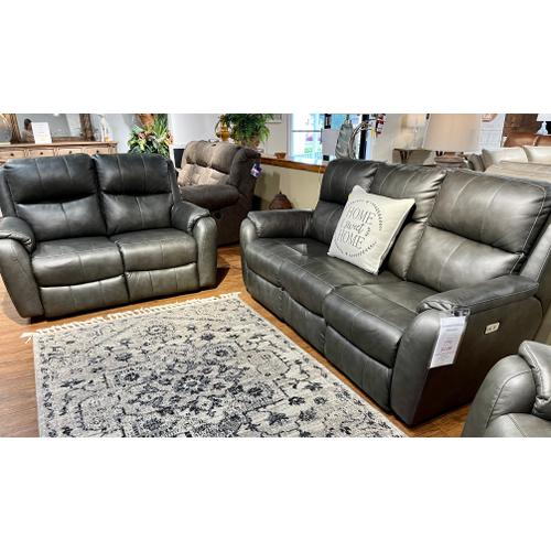 Southern Motion - Obsession Slate Power Reclining Sofa & Loveseat