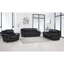 View Product - 4572 - Black Sofa Set