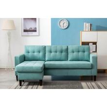 Kingdom - Sectional - Teal