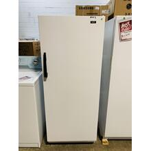 USED- White-on-White 1 Upright Freezer STNDFREZ-U Serial #6