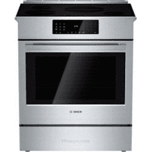 "'IN WHSE"" MOD # HII8055U-DS S/N 0028 ""AS IS NO FACTORY WARRANTY"" 30 Inch Slide-In Range Induction with True Convection, Meat Probe, Warming Drawer, AutoChef®, PreciseSelect®, Fast Preheat, SafeStart, 4 Induction Elements, 4.6 cu. ft. Capacity and Star-K Certified"