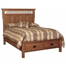 Deluxe Queen- Size Captains Bed
