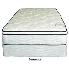 Sensuous Twin Mattress w/Box Springs