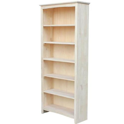 """Shaker Bookcase 72"""" Tall"""