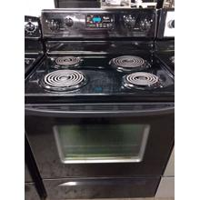 Black Whirlpool Coil Top Range (This may be a Stock Photo, actual unit (s) appearance may contain cosmetic blemishes. Please call store if you would like additional pictures). This unit carries our 6 Month warranty, MANUFACTURER WARRANTY and REBATE NOT VALID with this item. ISI 37283 W