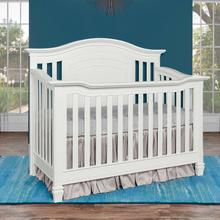 Evolur Fairbanks 5 in 1 Convertible Crib- White