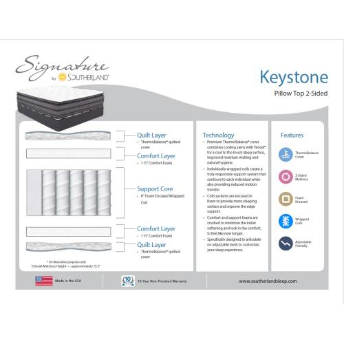 Southerland - Signature Collection - Keystone - Pillow Top