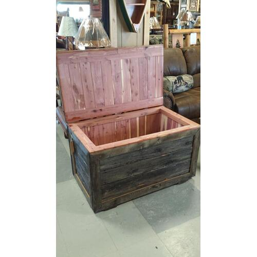 Cedar Lined Barnwood Chest
