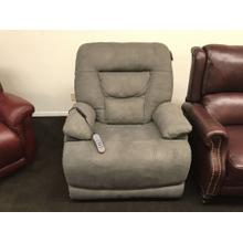 """See Details - Stanford Power Recliner with Power Headrest and Lumbar Support 43""""Wx37""""Dx43""""H  Fabric 373-02"""