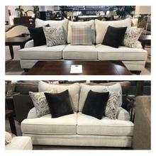 Griffin Menswear Sofa and Loveseat