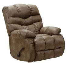 Berman Chaise Rocker Recliner - Fabric color Silt