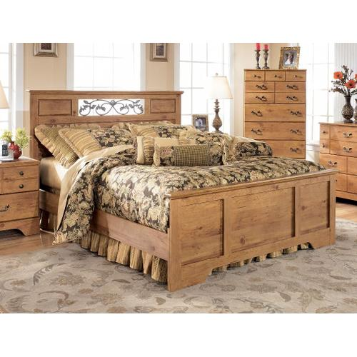 Bittersweet - Light Brown Collection: 3 Piece Queen Bed