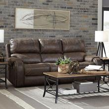 Clayton Reclining Sofa, Chocolate