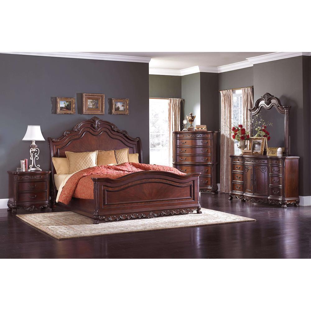See Details - Deryn Park 4Pc Cal King Bed Set