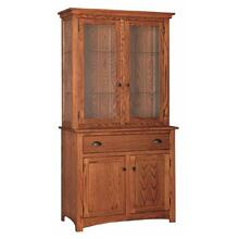 Transitional 2- Door China Hutch