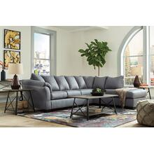 Darcy Steel 2pc. L-Shaped Sectional