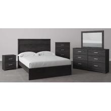 B2589 5PC SET: Queen Panel Bed & 2 Nightstands (Belachime)